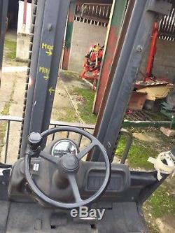 Chariot Diesel 351 Linde Model. Grand Cheval De Travail! Commerce Pas Cher En Camion. £ 3999