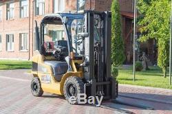Chariot Élévateur À Fourche À Contrepoids De Gaz Cat 2500kg Linde Hyster Dw0209