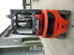 Chariot Élévateur À Gaz Linde H20t 391 2012, Capacité De Levage De 2000 KG Dans Un Très Bon