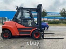 Chariot Élévateur Diesel D'occasion Linde H80d-02/900 2015 3,5m Hauteur De Levage 8000kg