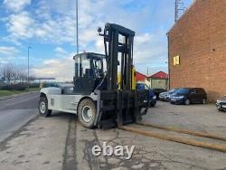 Chariot Élévateur Diesel D'utilisation Linde H120/02-1200 12 Tonnes À 1200 Centre De Chargement