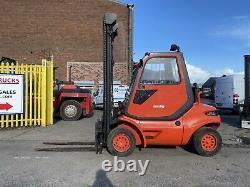 Chariot Élévateur Diesel D'utilisation Linde H40d-03 4 Tonnes 4,4 M Hauteur De Levage