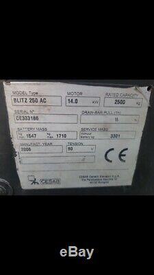 Chariot Élévateur Électrique De 2,5 Tonnes La Capacité. Non Cesab Toyota Nissan Linde