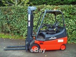 Chariot Élévateur Électrique Linde E20 / Tcm, Toyota, Hyster, Bt, Mitsubishi, Still, Clark