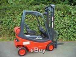 Chariot Élévateur Frontal Linde H12t Gas / Lpg. Pas Diesel Hyster, Halla, Tcm