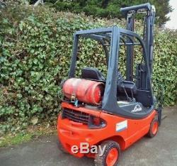 Chariot Élévateur Frontal Linde H16t Gas / Lpg 6.2m