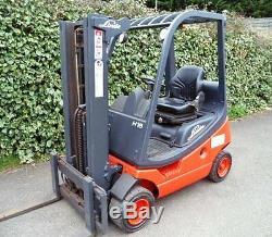 Chariot Élévateur Frontal Linde H18t Gas / Lpg