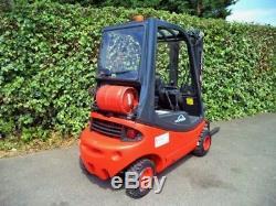 Chariot Élévateur Frontal Linde H20t Gas / Lpg