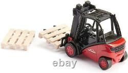 Chariot Élévateur Frontal Modèle Die Cast Linde Chariot Élévateur 150 Balance Pré Construit Jouet