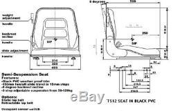 Chariot Élévateur Hyster Cat Seat Nissan Clark Mitsubishi Lansing Linde Komatsu