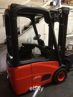 Chariot Élévateur Linde E12 Fork Lift £7,250 + Vat