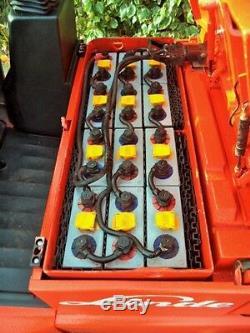 Chariot Élévateur Linde Electric À Contrepoids