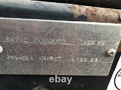 Chariot Élévateur Linde Gaz 1999 H20 Pièces Détachées Ou Réparation