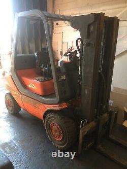Chariot Élévateur Linde H20 D Fork Lift Truck £2,995 + Vat