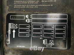 Chariot Élévateur Linde H20d Ne Fonctionne Pas, Réparation Ou Collecte De Pièces De Rechange Uniquement