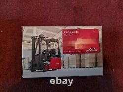 Collection De Modèles De Chariots Élévateurs Linde Diecast Boxed