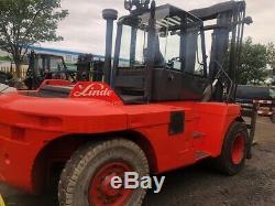 Décalage Latéral De Chariot Élévateur Diesel 2006 Linde H150 15t Diesel (grand / Conteneurs)