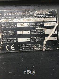Gaz De Chariot Élévateur Linde 1,8 Tonne