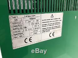 Hoppecke 24v 3 Phases 70 Ampères Chariot Élévateur Frontal Chargeur De Batterie Hyster Yale Linde