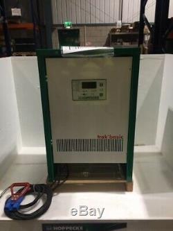 Hoppecke 48v 3 Phases 50 Ampères Chariot Élévateur Frontal Chargeur De Batterie Hyster Yale Linde