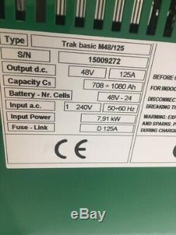 Hoppecke De Monophasé 125 Ampères Chariot Élévateur Frontal Chargeur De Batterie Hysteryale Linde
