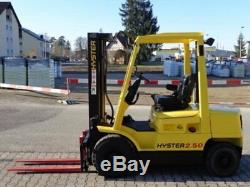 Hyster H2.50xm Chariot Élévateur À Fourche Diesel Linde Hyster Dw0202