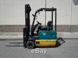 Komatsu Fb16m-2r Electric Chariot Élévateur À Fourche Toyota Hyster Linde Yale Dw0583