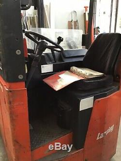 Lansing Linde Fork / Reach Truck En Parfait État De Fonctionnement, Entretenu Régulièrement