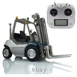 Lesu 1/14 Esc Motor Radio Unassembled Rc Modèle Linde Forklift Transfert De Camion De Voiture