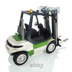 Lesu Rc 1/14 Esc Moteur Peint Modèle Léger Linde Forklift Transfert De Camion De Voiture Bricolage