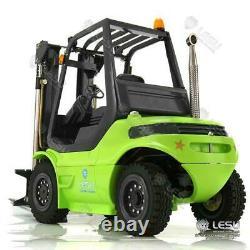 Lesu Rc Moteur De Pompe Modèle Peint Son Esc 1/14 Linde Forklift Truck Transfert