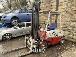 Linde 2 Ton Camion Chariot Élévateur Diesel Avec Positionneur Fourche Extra Large