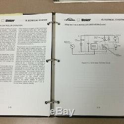 Linde Baker Bos15 Electric Préparateur De Commande Service Manuel Boutique Chariot Élévateur Guide