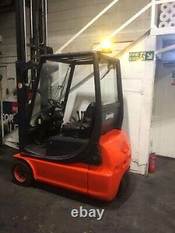 Linde E 16 Electric Forklift Chariot Élévateur £4,995 + Tva