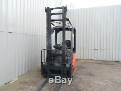 Linde E12 Chariot Élévateur Électrique Usagé. (# 2503)