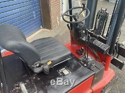 Linde E15 Compact Électrique Chariot Élévateur Flt 2750 Hauteur