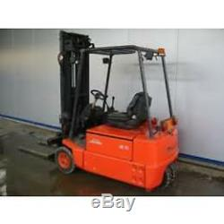 Linde E16 1600kg Electric 3-wheeler Forklift Chariot Élévateur Frontal