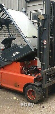 Linde E20p-02 2005 Electric Chariot Élévateur Rupture Pour Pieces E20 E20p 02