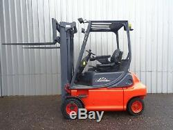 Linde E20p Utilisé Chariot Élévateur Électrique. (# 2380)