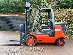 Linde E35p Electric Counterbalance Forklift Truck- 5.4 Mètres Hauteur De Levage