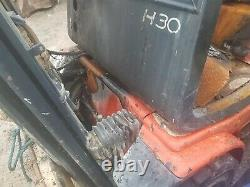 Linde Forklift Truck H30 Spares Réparation Incendie Dommages Deutz Diesel Engine
