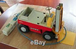 Linde Gama Fourche Toy Lift Truck 11 X 5 X 9 Fonctionne À Pile Vintage