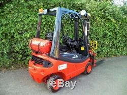 Linde Gas H16t Chariot Élévateur Frontal Équipé De Fourches Positioner- Comme Toyota, Hyster