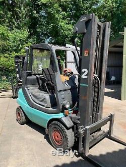 Linde Gpl Gaz 2.5ton Chariot Élévateur H25t-03 2.5 Tonnes 2003 Triple Mask 2500 KG