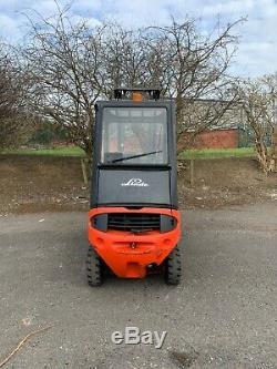Linde H16d-03 1.6 Tonnes Diesel Chariot Élévateur Frontal £ 4500 + Tva