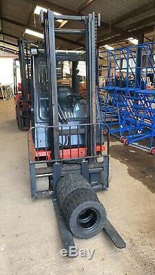 Linde H20 T-03 Counter Balance Gaz 2000 KG Chariot Élévateur Frontal Non V. A. T