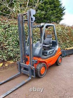 Linde H20d Diesel Counterbalance Forklift Truck- Like Hyster, Caterpillar, Mitsi