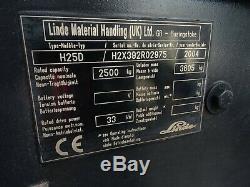 Linde H25d Chariot Élévateur Diesel Usagé. (# 2348)