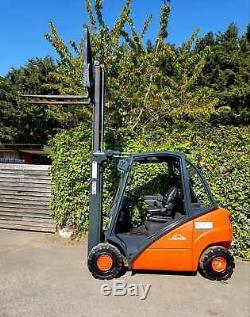 Linde H25d Diesel Chariot Élévateur Frontal / Duplex Ascenseur Mast 3.1
