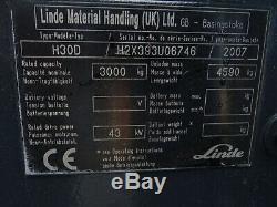 Linde H30d Diesel Occasion Camion. (# 2616)